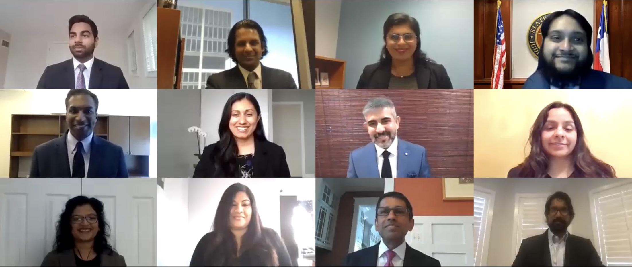 *The 2020-2021 SABA Executive Committee was sworn in on June 23, 2020 by Chief Judge Sri Srinivasan of the U.S. Court of Appeals for the D.C. Circuit.