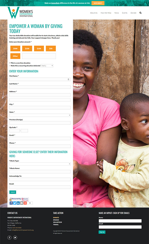 custom-donation-form